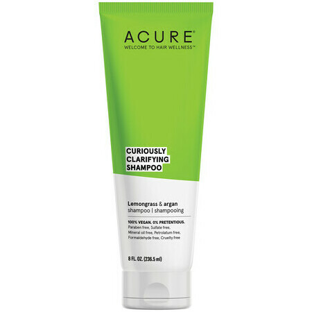 Acure Curiously Clarifying™ Shampoo - Lemongrass & Argan