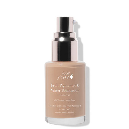 100% Pure Water Foundation - Peach Bisque