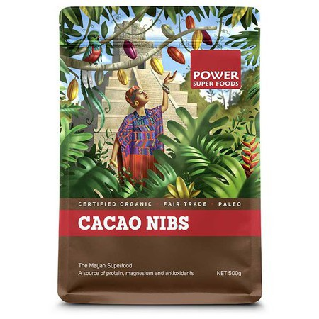 Power Super Foods Cacao Nibs