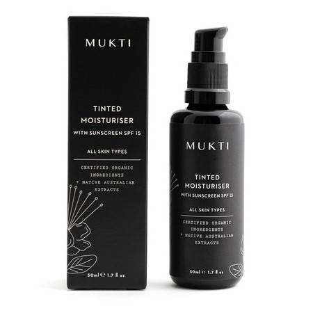 Mukti Tinted Moisturiser with Sunscreen (SPF 15+)