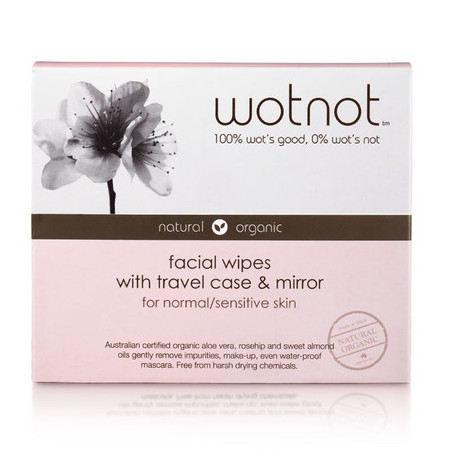 WOTNOT Facial Wipes - Normal/Sensitive Skin