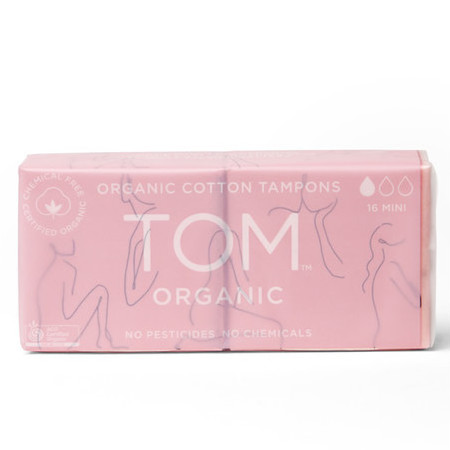TOM Certified Organic Tampons - Mini