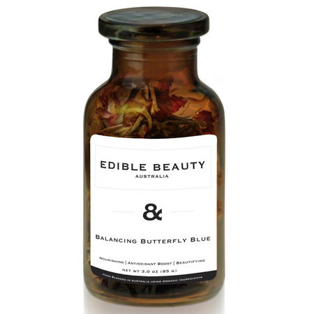 Edible Beauty & Balancing Butterfly Blue