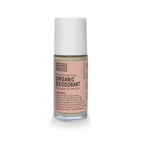 Noosa Basics Roll On Deodorant - Coco+Vanilla