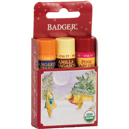 Badger Balm - Lip Balm Pack Red