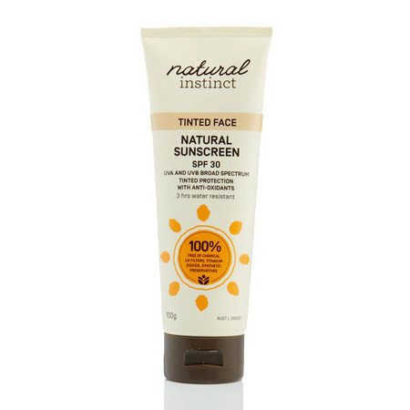 Natural Instinct Tinted Face Sunscreen SPF30
