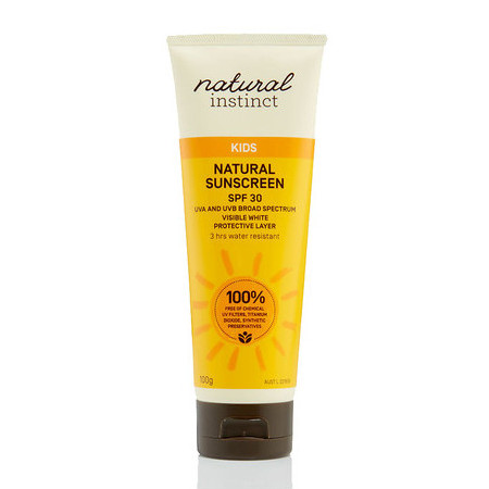 Natural Instinct Natural Kids Sunscreen SPF30