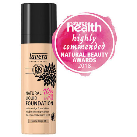 Lavera 10 hr Mineral Foundation - Honey Beige 04
