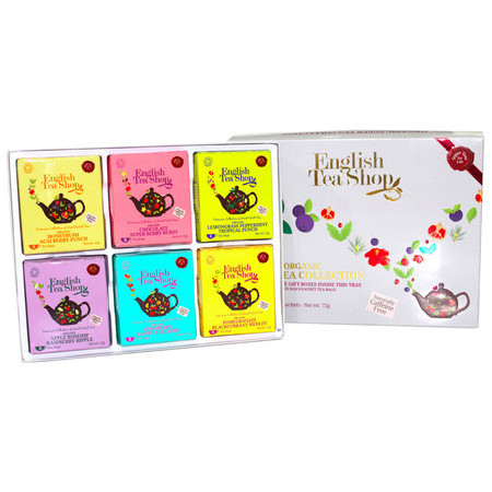 English Tea Shop - Organic Super Tea Variety Gift Box