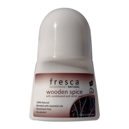 Fresca Natural Deodorant - Wooden Spice