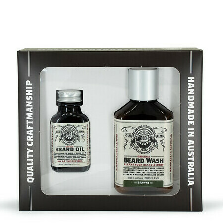 The Bearded Chap - Luxury Beard Duo Kit - Brawny