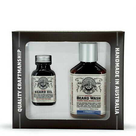 The Bearded Chap - Luxury Beard Duo Kit - Staunch