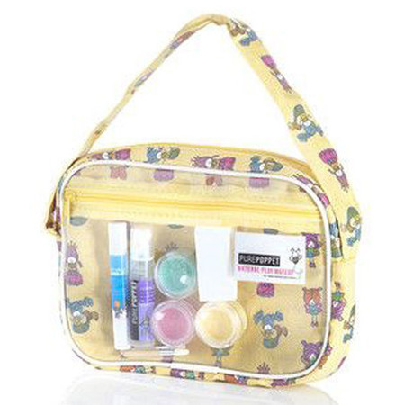Pure Poppet Kids Natural Play Make Up Bag - Yellow