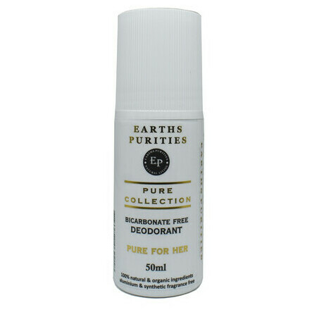 Earths Purities - Pure for Her Bi-Carb Free Deodorant