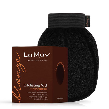 BRONZE By La Mav Exfoliating Mitt