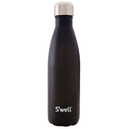 S Well Insulated Bottle Stone Collection Onyx
