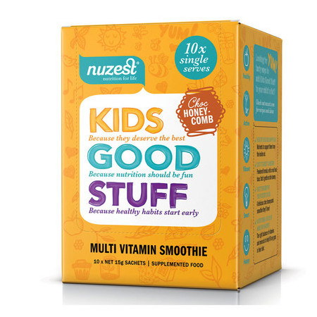 NuZest Kids Good Stuff Sachets - Choc Honeycomb
