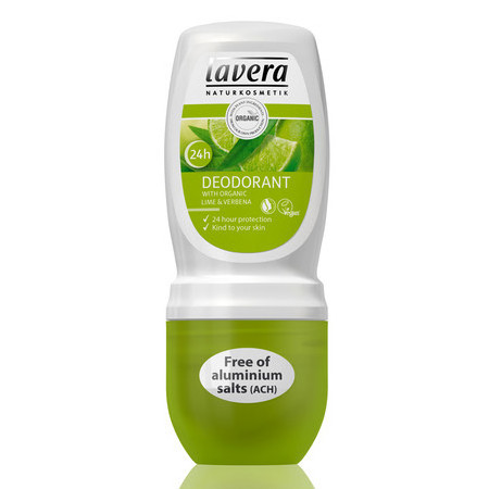 Lavera 24 Hour Lime Roll-On Deodorant