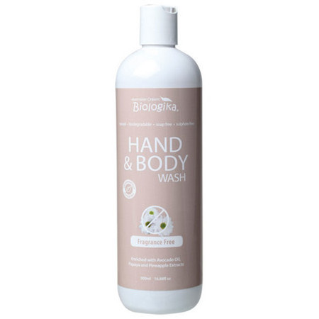 Biologika Fragrance Free Hand And Body Wash Nourished