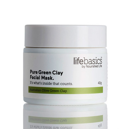 Life Basics Pure Green Clay Facial Mask