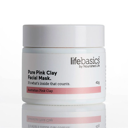 Life Basics Pure Pink Clay Facial Mask