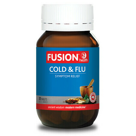 Fusion Health Cold & Flu Tablets