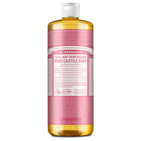 Dr Bronner's Pure-Castile Liquid Soap - Cherry Blossom