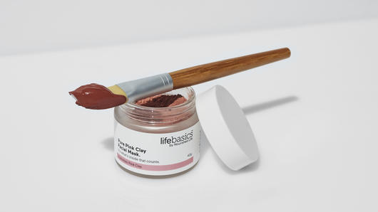 Natural Australian pink clay mask