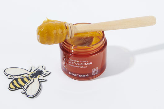 Pumpkin glycolic acid mask