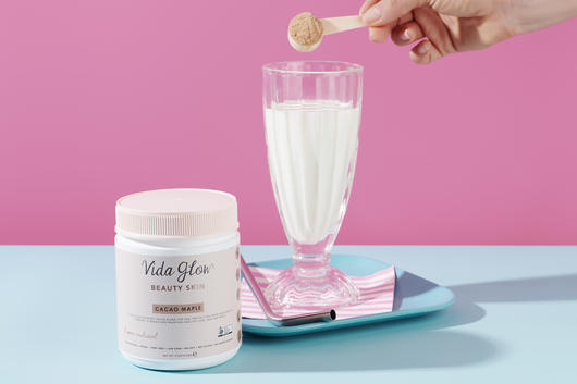 Vida glow collagen protein powder