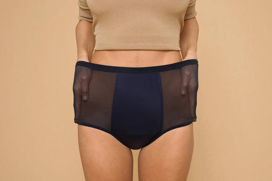 High waist period underwear