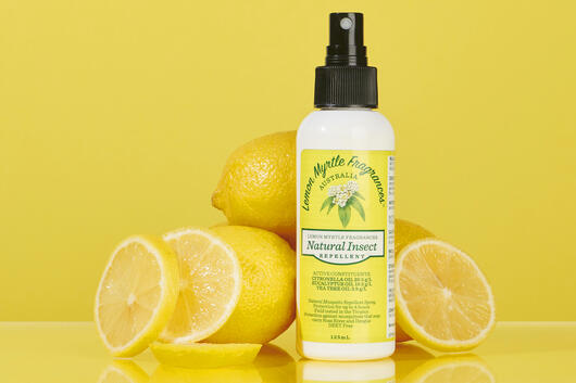 Lemon myrtle insect repellent spray