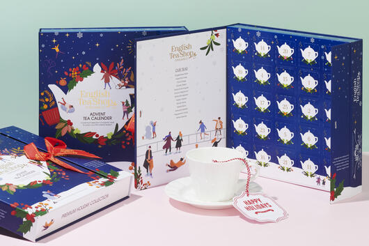 English Tea Shop Organic Book Style Advent Calendar - Christmas Night