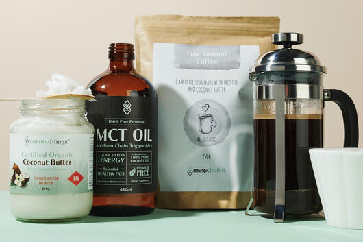 Coconut MCT Oil coffee