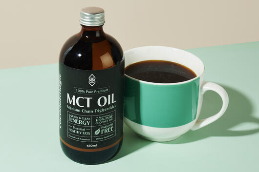 Coconut magic mct oil in coffee