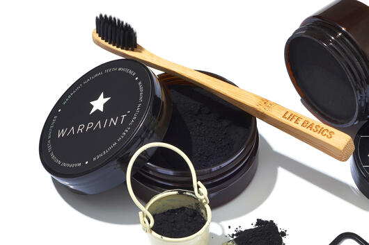 Warpaint natural teeth whitening charcoal powder
