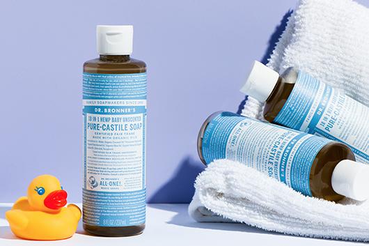 Dr Bronner's Unscented Liquid Soap