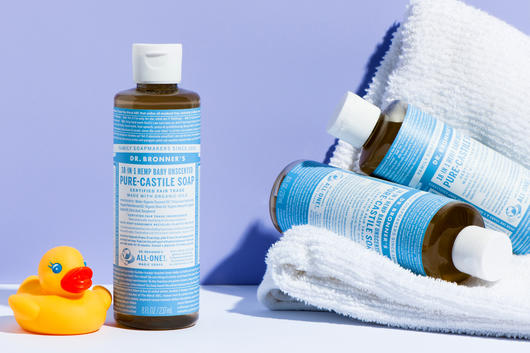The 18 ways to use Dr  Bronner's 18 in 1 Castile Soap