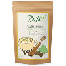 Zen TURMERIC Matcha Green Tea Powder