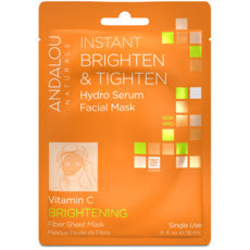 Andalou Naturals Sheet Mask - Instant Brighten & Tighten (Single Use)