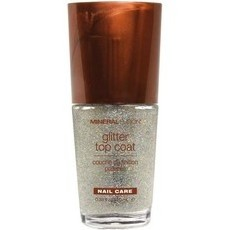 Mineral Fusion Nail Polish - Glitter Top Coat