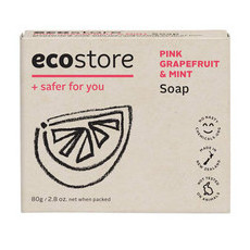 Ecostore Boxed Soap - Pink Grapefruit & Mint