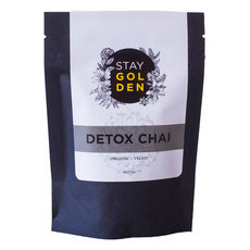 Stay Golden Activated Charcoal Detox Chai