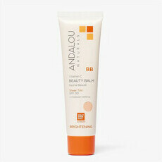 Andalou Naturals Brightening BB Beauty Balm - Sheer Tint SPF 30