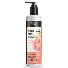Organic Shop Shower Gel - Organic Rose & Mallow