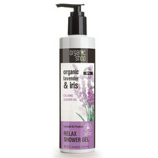 Organic Shop Shower Gel - Organic Lavender & Iris