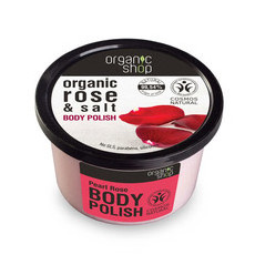Organic Shop Body Polish - Organic Rose & Salt