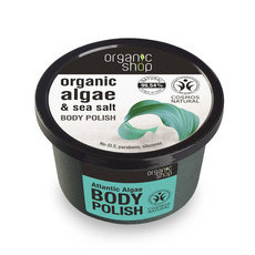 Organic Shop Body Polish - Organic Algae & Sea Salt