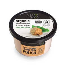 Organic Shop Body Polish - Organic Sweet Almond & Cane Sugar