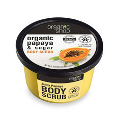 Organic Shop Body Scrub - Organic Papaya & Sugar